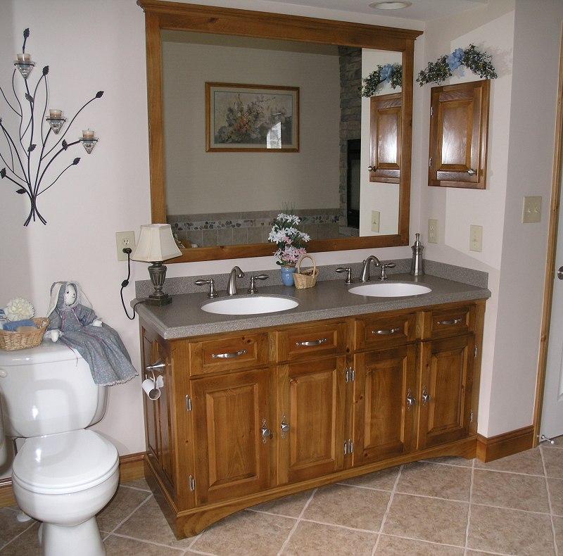 Pine Bath Vanity